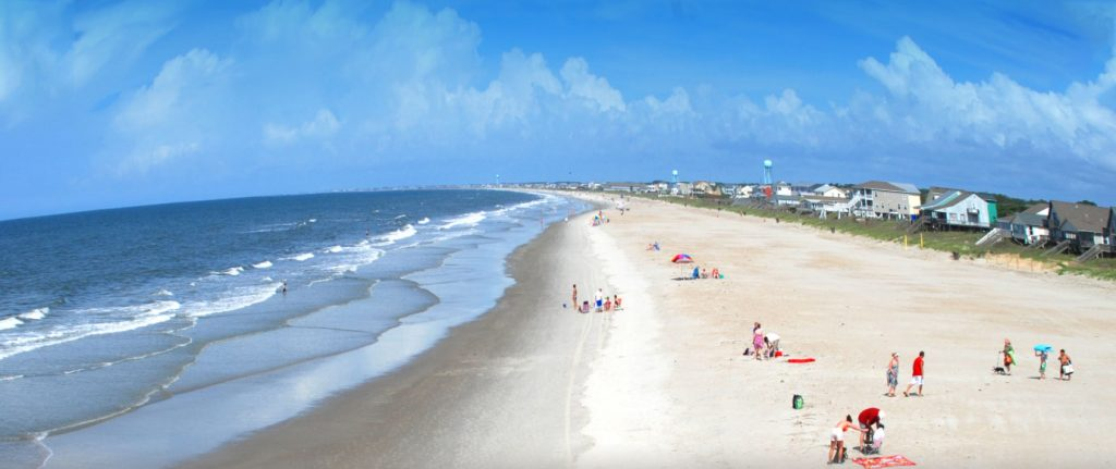 Oak Island Beach Day