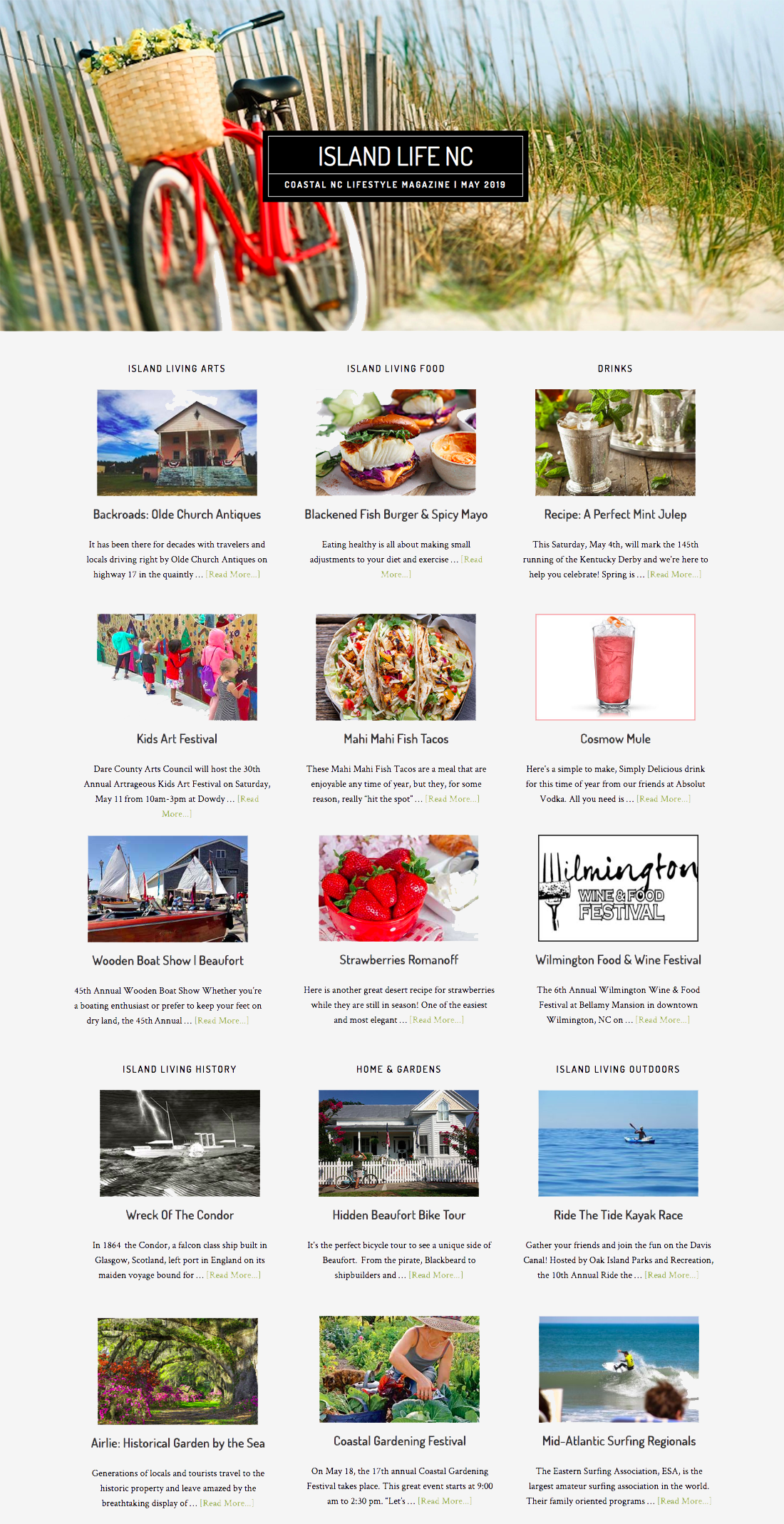 May Issue of Island Life NC Available Now! - Bald Head Island NC